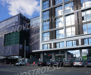 МФК «Loftec»: проезд между МФК Loftec и МФК TriBeCa Apartments