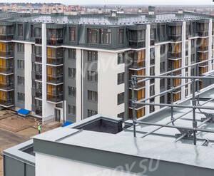 Малоэтажный ЖК «Inkeri»: ход строительства корпуса 4 из группы Вконтакте