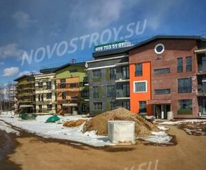 Малоэтажный ЖК «Федоскинская слобода»: ход строительства (фото из группы «Вконтакте»)