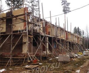 ЖК «Шервудский лес»: ход строительства корпуса Кембридж 12 (фото из группы «Вконтакте»)