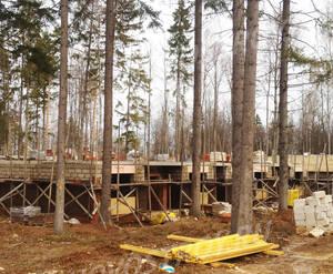 ЖК «Шервудский лес»: ход строительства корпуса Ричмонд 20 (фото из группы «Вконтакте»)
