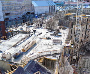 МФК «Grani»: ход строительства