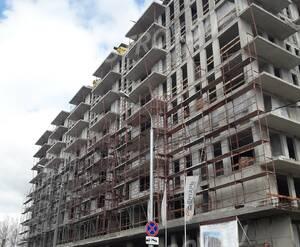 МФК «Янтарь apartments»: ход строительства (фото из группы «Вконтакте»)