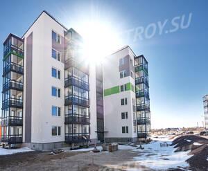 ЖК «Gröna Lund»: ход строительства корпуса 1.8