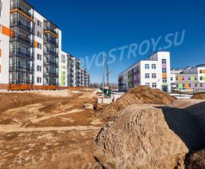 ЖК «Gröna Lund»: ход строительства корпуса 1.9