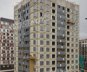 ЖК «Европа Сити»: ход строительства корпуса 12