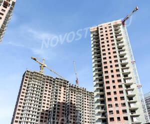 ЖК «Невские Паруса»: ход строительства корпуса 1.1,1.2,1.3
