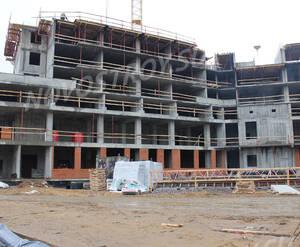 ЖК «Охтинская Дуга»: ход строительства дома 4 из группы Вконтакте