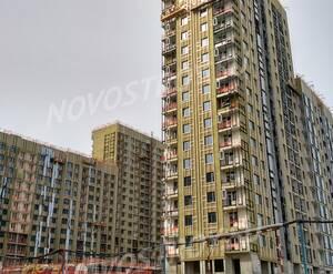 ЖК «Город на Реке Тушино-2018»: ход строительства 1 квартала