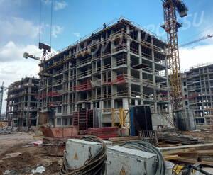 ЖК «Испанские кварталы»: ход строительства корпуса 13.3
