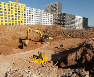 ЖК «Бунинские луга»: ход строительства школы