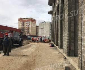 ЖК «Литвиново сити»: работы на придомовой территории (фото из группы «Вконтакте»)