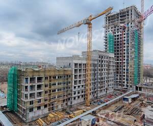 ЖК «SREDA»: ход строительства
