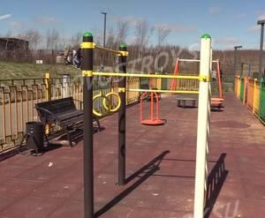 Малоэтажный ЖК «Андерсен»: детская площадка на территории комплекса