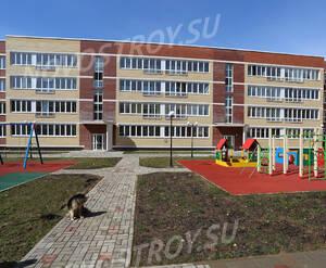 Малоэтажный ЖК «Малая Истра»: детская площадка на территории комплекса (фото из группы «Вконтакте»)