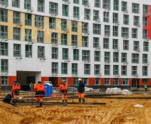 ЖК «Рождественский»: ход строительства корпуса 1Б