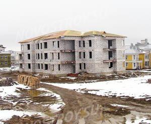 Малоэтажный ЖК «Петровская мельница»: ход строительства блока С5