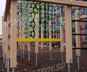 МФК «ТехноПарк»: детская площадка на территории комплекса