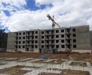 Малоэтажный ЖК «Пушкарь»: ход строительства