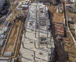 ЖК «Авентин»: ход строительства корпуса 2