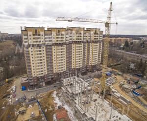 ЖК «Авентин»: ход строительства корпуса 3