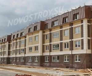 Малоэтажный ЖК «Театральный парк»: ход строительства корпуса 2