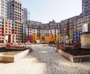 ЖК «Дом-Солнце»: благоустройство внутреннего двора (фото из группы «Вконтакте»)