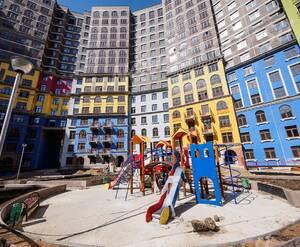ЖК «Дом-Солнце»: детская площадка на территории комплекса (фото из группы «Вконтакте»)