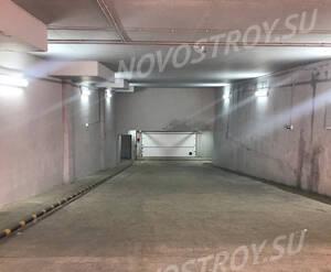ЖК «Лунный»: въезд в подземный паркинг