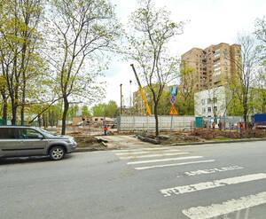 ЖК «Дом на Усиевича»: вид на строительную площадку