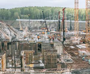 МФК «Спутник»: ход строительства (фото из группы «Вконтакте)