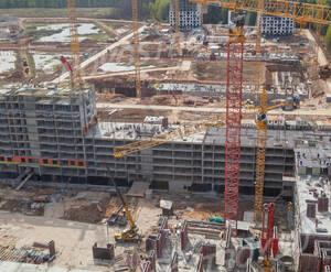 ЖК «Саларьево Парк»: ход строительства корпуса 5