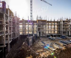 ЖК «Город-событие «Лайково»: ход строительства дома 19