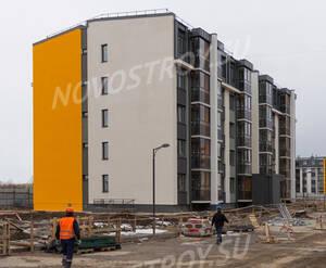 Малоэтажный ЖК «Inkeri»: ход строительства корпуса 1 из группы Вконтакте