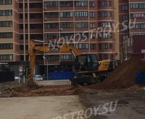 ЖК «Молодежный IV»: работы по благоустройству придомовой территории (фото из группы «Вконтакте»)