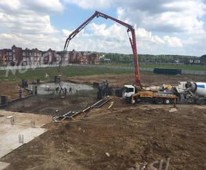 Малоэтажный ЖК «Остров Эрин»: ход строительства корпуса 2 (фото из группы «Вконтакте»)