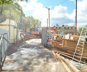 МФК «Резиденция на Покровском бульваре»: подготовка строительной площадки