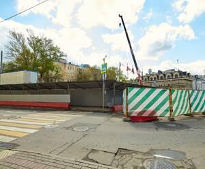 МФК «Резиденция на Покровском бульваре»: вид на строительную площадку