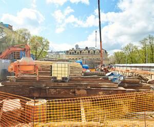 МФК «Резиденция на Покровском бульваре»: строительная площадка