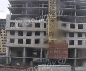ЖК «Парнас»: ход строительства корпуса 1