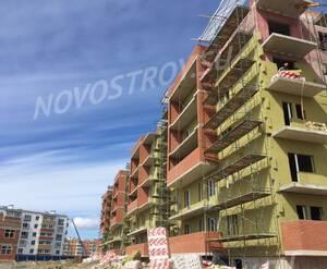 Малоэтажный ЖК «Новый Петергоф»: ход строительства 4 очереди