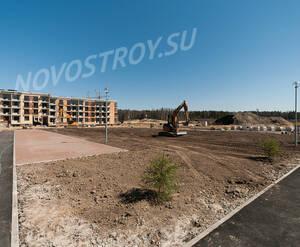 Малоэтажный ЖК «Чистый ручей»: ход строительства корпуса 2