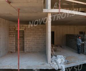 Малоэтажный ЖК «Чистый ручей»: ход строительства корпуса 4