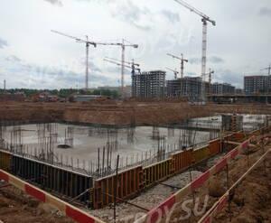 ЖК «Испанские кварталы»: ход строительства корпуса 8.1