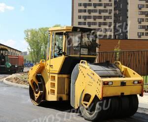 ЖК «Молодежный IV»: строительная технология рядом со строительной площадкой (фото из группы «Вконтакте»)