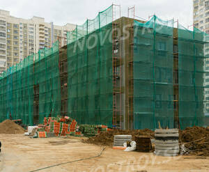 ЖК «Новокуркино»: ход строительства поликлиники