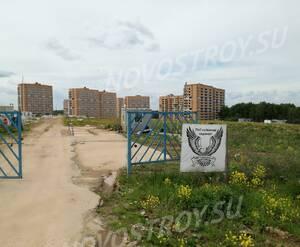 ЖК «Спортивный квартал»: въезд на строительную площадку (фото из группы «Вконтакте»)