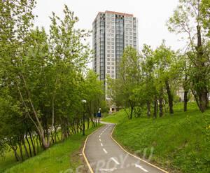 ЖК «Левобережный»: парк рядом с комплексом