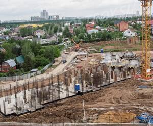 ЖК «Зелёные аллеи»: ход строительства корпуса 2.10