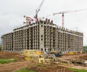 ЖК «Жемчужина Зеленограда»: ход строительства корпуса 8